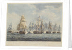 British line engaging the enemy, 1812 by Thomas Whitcombe
