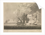Defeat of the French and Italian squadron, 13 March 1811 by R. Lambe