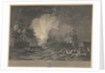 The Battle of the Nile, 1 August 1798 by de Loutherbourg