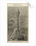 Design for the naval pillar - Britannia Victorious by James Gillray