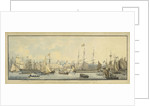 The embarkation of His Majesty George the Fourth, on board the Royal George Yacht. Off Greenwich to visit his Scottish Dominions 10 Augt. 1822 by John Thomas Serres