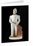 A Staffordshire earthenware figure of the Arctic explorer, Sir John Franklin (1787-1847) by unknown