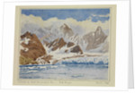 Glacier in West Cumberland Bay - South Georgia, March 1926 by Sir Alister Hardy