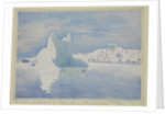 Mount Parry, Brabant Island, from Melchior Islands, Palmer Archipelago (unfinished sketch), March 1927 by Sir Alister Hardy