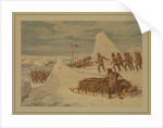 Polar Sketches. On the Northern March, April 8, 1876 by Dr Edward Lawton Moss (artist); Ward