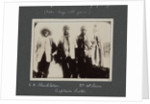 E.H. Shackleton, Captain Scott and Dr Wilson from National Antarctic Expedition photo album by Sir Ernest Henry Shackleton