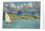 Martinique: Fort de France, from the 'Suzanne' by John Everett