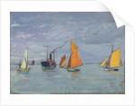Fishing boats by John Everett