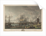 To the King's most excellent Majesty this view of the River & Shipping at Limehouse by Robert Dodd