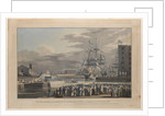 This plate representing the Opening of St. Katherine Docks on Saturday 25th October 1828 by William John Huggins