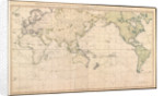 A general chart exhibiting the discoveries made by Captain James Cook in this and his two preceeding voyages with the tracks of the ships under his command by Lieutenant Henry Roberts; William Faden