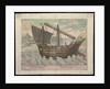 Naves et China et Java (sailing vessel of China & Java,1599) by Ioa a Doc