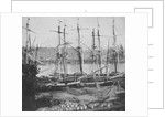 Looking across the Seine at Rouen. Inversed digital file to create b&w positive by William Henry Fox Talbot