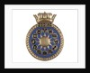 Official ship's badge of  HMS 'Zodiac' (1943) by unknown