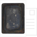 Portait of an unidentified naval officer. Fox Talbot Collection by G. Renard