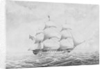 HMS 'Stag' (1830) by T.P. Coode
