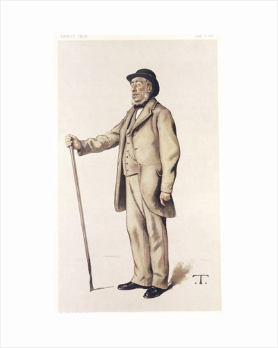 Sir John Lawes, English scientific agriculturalist, 1882. by Theobald Chartan