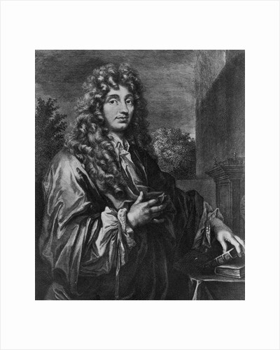 Christiaan Huygens, Dutch physicist, c1670 by Unknown