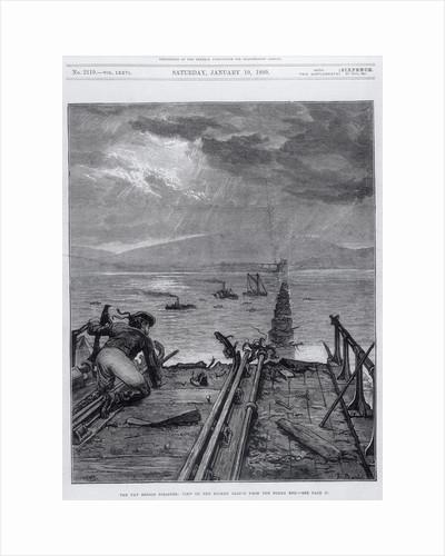 Tay Bridge disaster, Scotland, 28 December 1879 by Frank Dadd