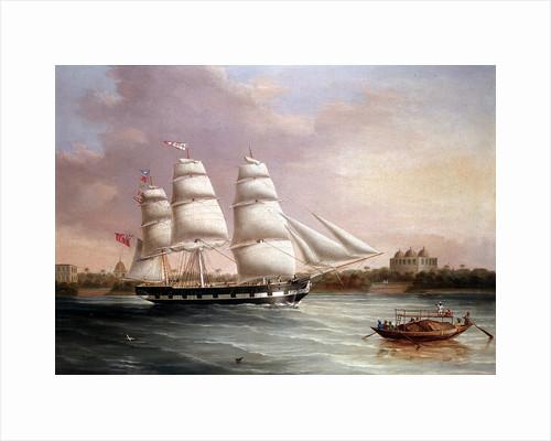 John Wood Approaching Bombay, c1850. by Joseph Heard