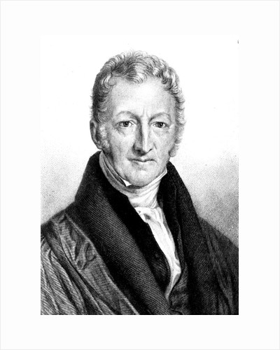 Thomas Robert Malthus, English economist and clergyman by Unknown