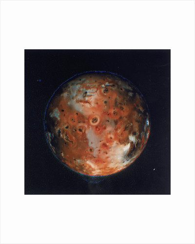 Full view of Io, one of the moons of Jupiter, 1979 by Unknown