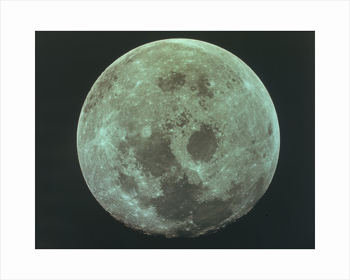 Front side of the moon, 22 July 1969 by Unknown