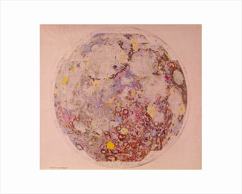 Geological map of the moon, 1967 by Unknown