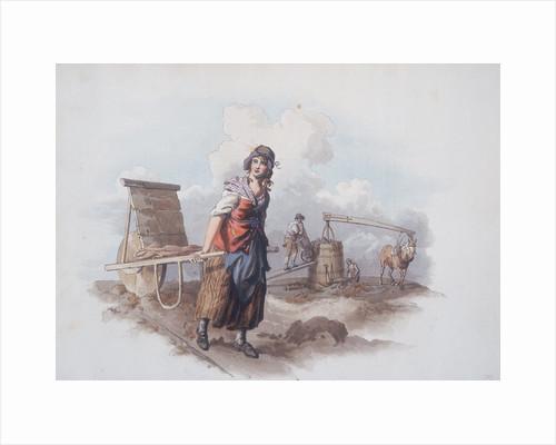 Brick Maker, 1808 by William Henry Pyne