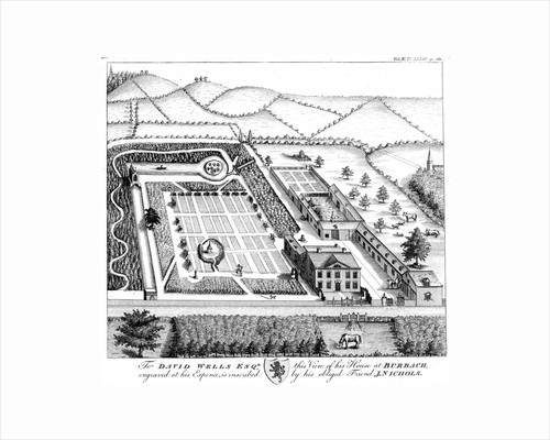Gentleman's model country estate, c1750 by Unknown