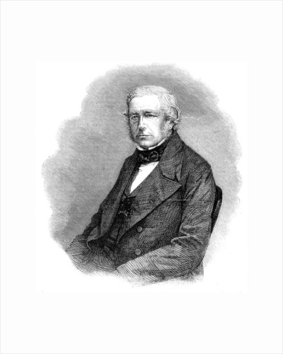 John Stevens Henslow, English botanist, geologist and clergyman, 1861 by Anonymous