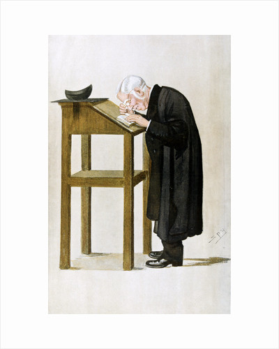 William Archibald Spooner, British clergyman and educationalist, 1898 by Spy