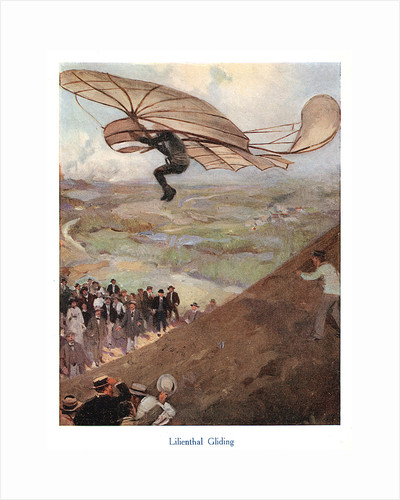 Otto Lilienthal, German aeronaut, early 20th century by Unknown