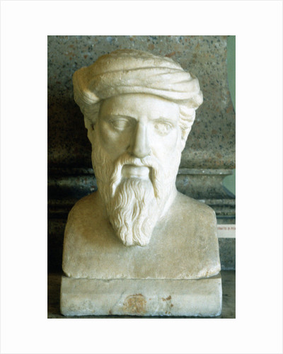 Pythagoras, Ancient Greek mathematician and philosopher, 6th century BC by Unknown