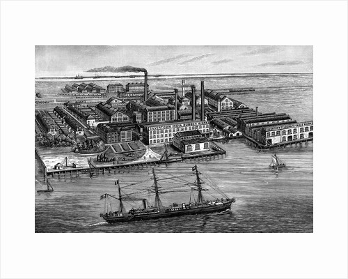 India Rubber, Gutta Percha & Telegraph Works Company factory, Silvertown, London, 1887 by Unknown