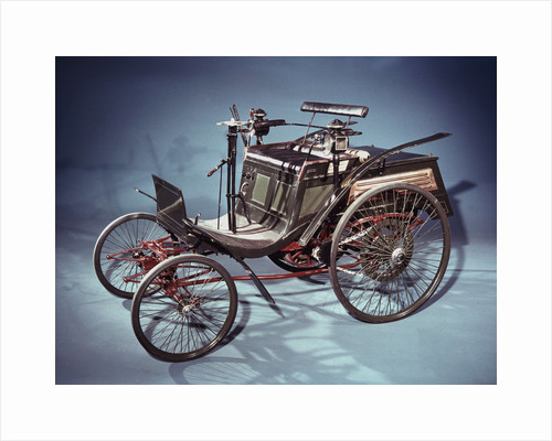 Rear-engined Benz Velo car, German, 1894 by Unknown