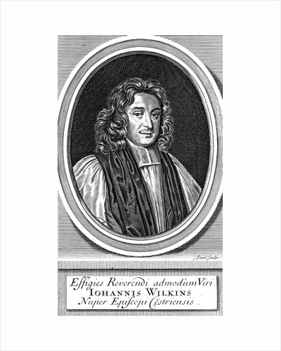 John Wilkins, 17th century English cleric and astronomer by Unknown