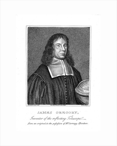 James Gregory, 17th century Scottish mathematician and astronomer by Unknown