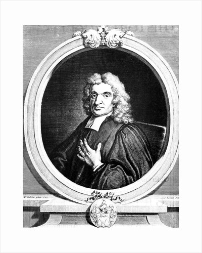 John Flamsteed, English astronomer and clergyman,1712 (1725) by George Vertue