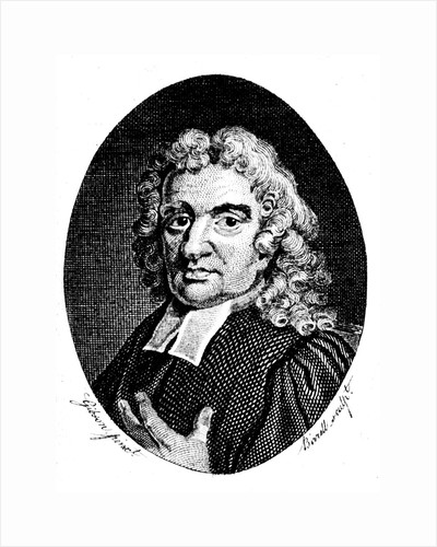 John Flamsteed, English astronomer and clergyman, 1794 by A Birrell