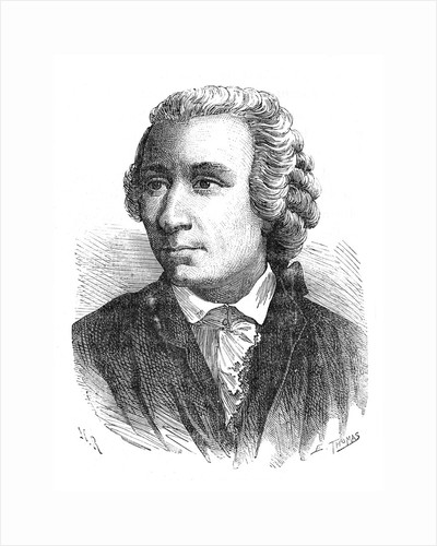 Leonhard Euler, 18th century Swiss mathematician, 1874 by Unknown