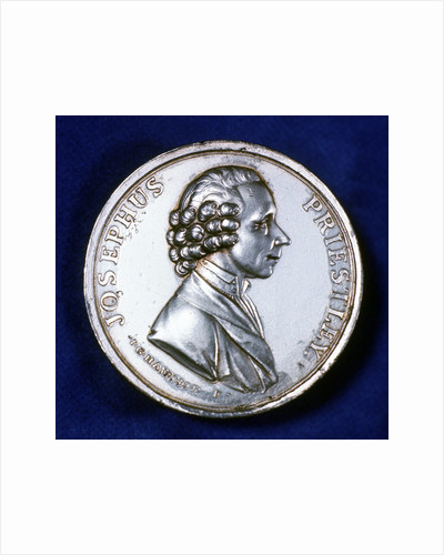 Obverse of commemorative medal for Joseph Priestley (1733-1804), 1803 by Unknown