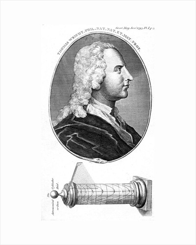 Thomas Wright, English astronomer, scientific instrument maker and teacher, 1793 by Unknown