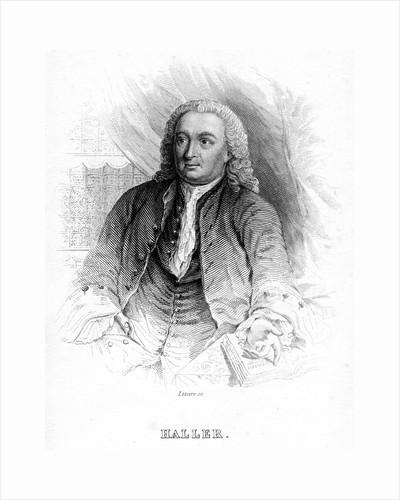 Albrecht von Haller, 18th century Swiss physician and scientist, c1840 by Unknown