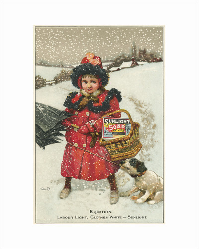 Trade card for Sunlight Soap, c1900 by Tom Browne
