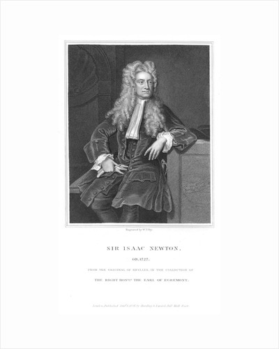 Isaac Newton, English mathematician and physicist, 1836 by William Thomas Fry