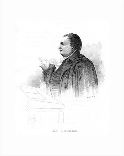 John Leslie (1766-1832), Scottish natural philosopher and physicist, lecturing, 19th century by Unknown