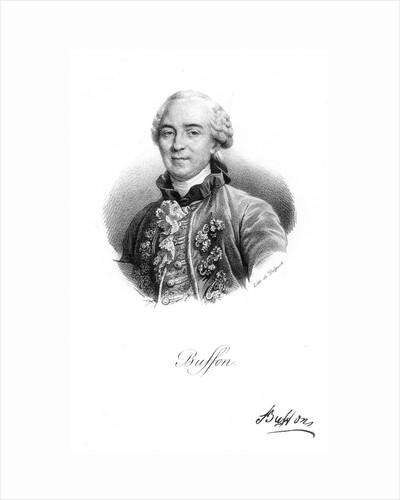 Georges-Louis Leclerc, Comte du Buffon, 18th century French naturalist, c1830 by Delpech