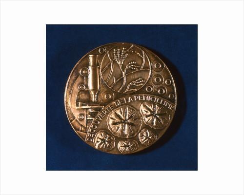 Medal commemorating the discovery of penicillin, 1945 by Unknown