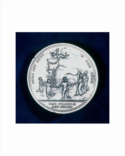 Medal commemorating the discovery of smallpox vaccination in 1796 (1800) by Unknown